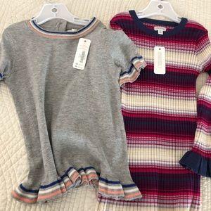 [NEW] 3T Gymboree sweater top & dress